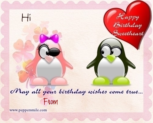 Happy Birthday Wis By Penguin
