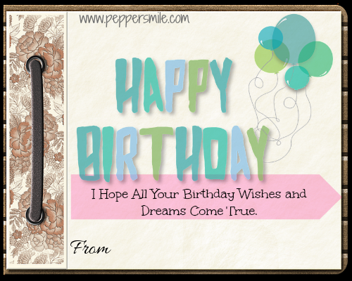 Birthday Greeting Message