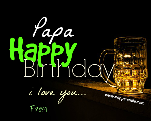 happy birthday papa