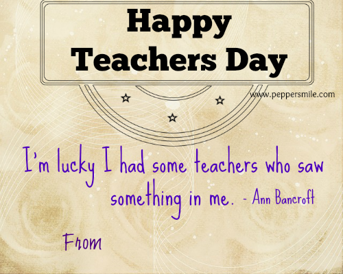 Happy teachers day greeting card m4hsunfo