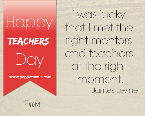 happy teachers day card