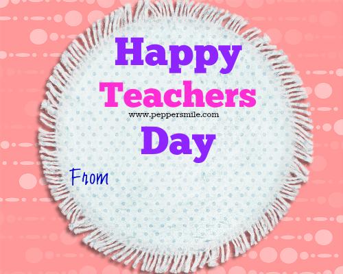 Teachers Day Greeting