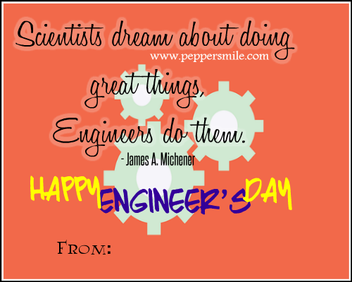 15 September Engineers Day