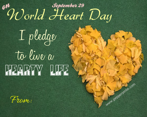 My Pledge World Heart Day