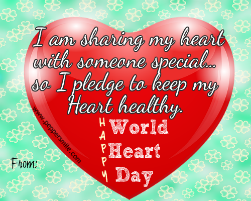 World Heart Day I Pledge
